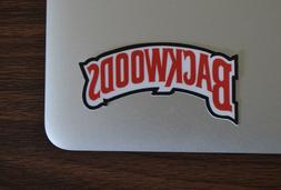 "1"" Backwoods Cigar Smokes Sticker Decal Vinyl Cell Laptop"
