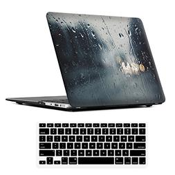 iCasso 2 in 1 MacBook Air 13 Inch Case Durable Rubber Coated