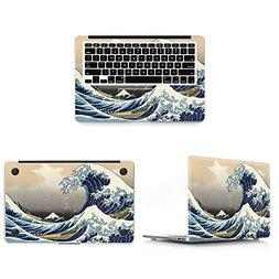 HRH 3 In 1 Sea Wave Full Body Cover Vinyl Decal Laptop Stick