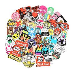 10 Series Stickers Pack 100pcs Stickers Variety Vinyl Car St