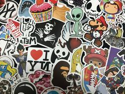 100/300/500X Skateboard Stickers Graffiti Laptop Sticker Lug
