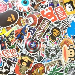 100 PCS Laptop Graffiti Car Luggage Vinyl Decal Skateboard S