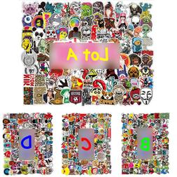 100 Car Stickers Multi Wall Bomb Laptop Luggage Decals Dope