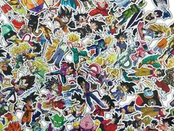 100 Dragon ball Z Dbz Skateboard Stickers bomb Vinyl Laptop