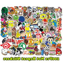 100 Funny Skateboard Stickers Vinyl Laptop Luggage Decals Do