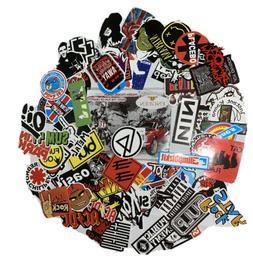 100 pcs Hard Rock & Roll Stickers-Laptop,Phone,Bike,Bumper,L