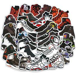 100 PCS Michael Jordan Basketball Shoes AJ Luggage Laptop Sk