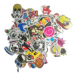 100 pcs Skateboard Stickers Graffiti Laptop Sticker Luggage