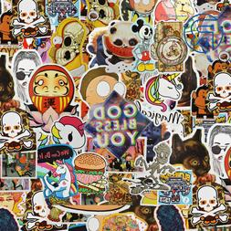 100 Random Skateboard Stickers Vinyl Laptop Luggage Decals D
