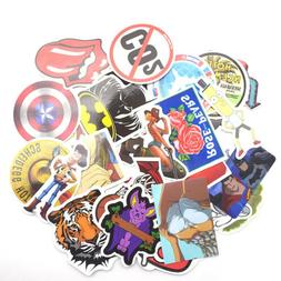 100 Skateboard Stickers bomb Vintage Hype Laptop Luggage Dec