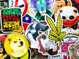 100 Sticker Bomb For Skateboard Laptop Cars Guitar Memes Mus