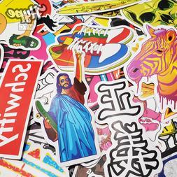 100 Sticker Pack, Supreme Bape Hypebeast Laptop Skateboard S