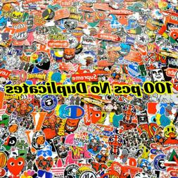 100 Waterproof Skateboard Sticker Bomb Laptop Luggage Decals