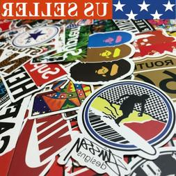 1000 Random Skateboard Stickers Vinyl Laptop Luggage Decals