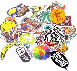 1000 x Car Stickers Skateboard Luggage Trunk Laptop Sticker