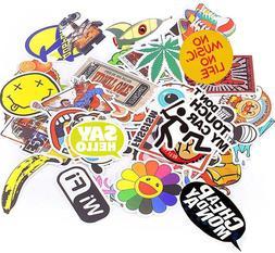 1000 x Car Stickers Skateboard Luggage Trunk Laptop Sticker