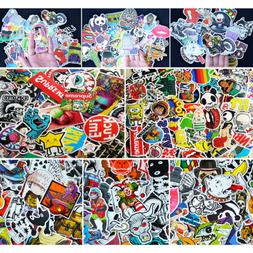 100 Pcs Car Stickers Skateboard Sticker Graffiti Laptop Lugg
