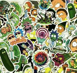 100pc Adult Animated Rick and Morty Funny Movie Decal Laptop