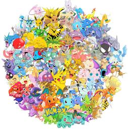 100pc POKEMON GO Pikachu Cartoon Stickers Laptop Sticker Lug