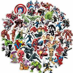 104pc Superhero Video Game Anime Vinyl Stickers Pack for Hyd