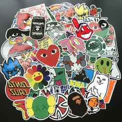 100Pcs Mix Cool Graffiti Stickers Bomb Skateboard Luggage La
