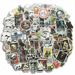 100Pcs Star Wars Vinyl Stickers Waterproof Decals Pack Car L