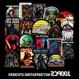 100 Star Wars Vinyl Stickers Graffiti Bomb Decals Car Laptop