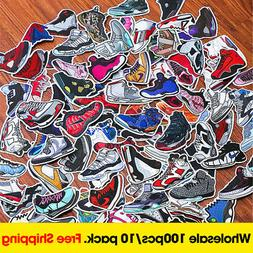 10packs/1000pcs Wholesale Air Jordan Sneaker Sticker for Lap