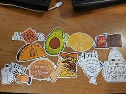 10pcs Vine Tic Tok Viral Phrases Laptop Scrapbook Stickers