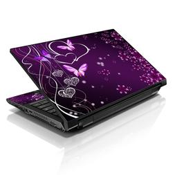 "13.3"" 15.6"" 16"" Laptop Skin Sticker Notebook Decal Butterfly"