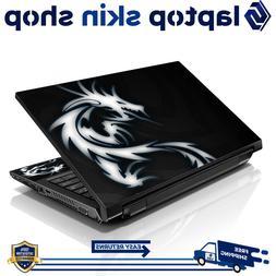 "13.3"" 15.6"" 16"" Laptop Skin Sticker Notebook Decal Black Dra"