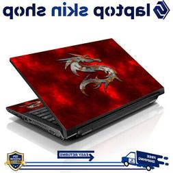"13.3"" 15.6"" 16"" Laptop Skin Sticker Notebook Decal Red Drago"