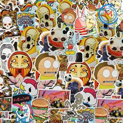 1300 pcs Skateboard Stickers Graffiti Laptop Sticker Luggage