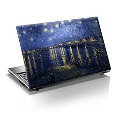 TaylorHe 15.6 inch 15 inch Laptop Skin Vinyl Decal with Colo