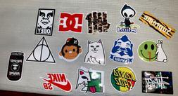 15 Mood Stickers Laptop Flask Skateboard Stick Ons