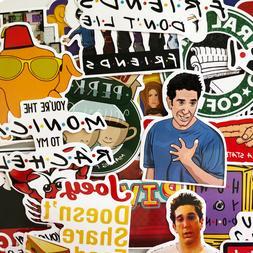 15 random friends tv show laptop stickers
