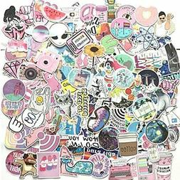 156 Pcs Cute Stickers, Laptop And Water Bottle Decal Pack Fo