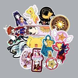 15pcs/set Anime Card Captor Sakura Stickers for Laptop Suitc