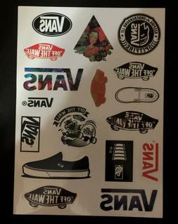 16 Vans Skateboard Longboard Vintage Vinyl Sticker Laptop Lu