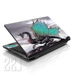 "LSS Laptop 17-17.3"" Skin Cover with Colorful Dinosaurs Patte"