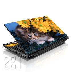 """LSS Laptop 17-17.3"""" Skin Cover with Colorful Baby Cat Patter"""