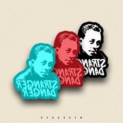 1x Albert Camus LAPTOP SKATEBOARD CAR WATERPROOF STICKER Phi