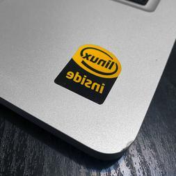 1x Linux Inside Laptop Sticker