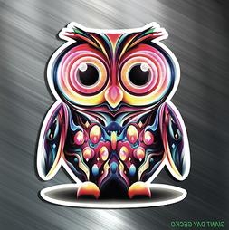 TWO EDC OWLS Vinyl Decal Sticker For Car Laptop Skateboard