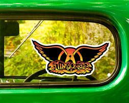 2 AEROSMITH BAND DECALs Sticker Bogo For Car Window Bumper L