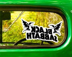 2 BLACK SABBATH DECALs Sticker Bogo For Car Window Bumper La