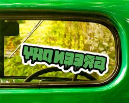 2 GREEN DAY DECALs Sticker Bogo For Car Window Bumper Laptop