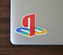 "2"" PlayStation Logo PS2 PS3 PS4 Sticker Decal Vinyl Cell Lap"