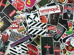 200 Random Stickers Waterproof Laptop Luggage Hyperbeast Sup