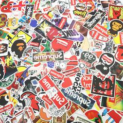 200Pcs Skateboard Stickers Vinyl Luggage Laptop Bomb Decals